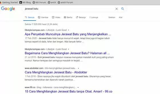 hasil kata kunci di dalam judul artikel seo google