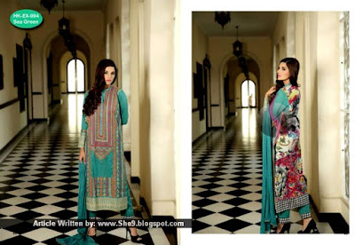 Hadiqa Kiani Pre-Eid Lawn Collection