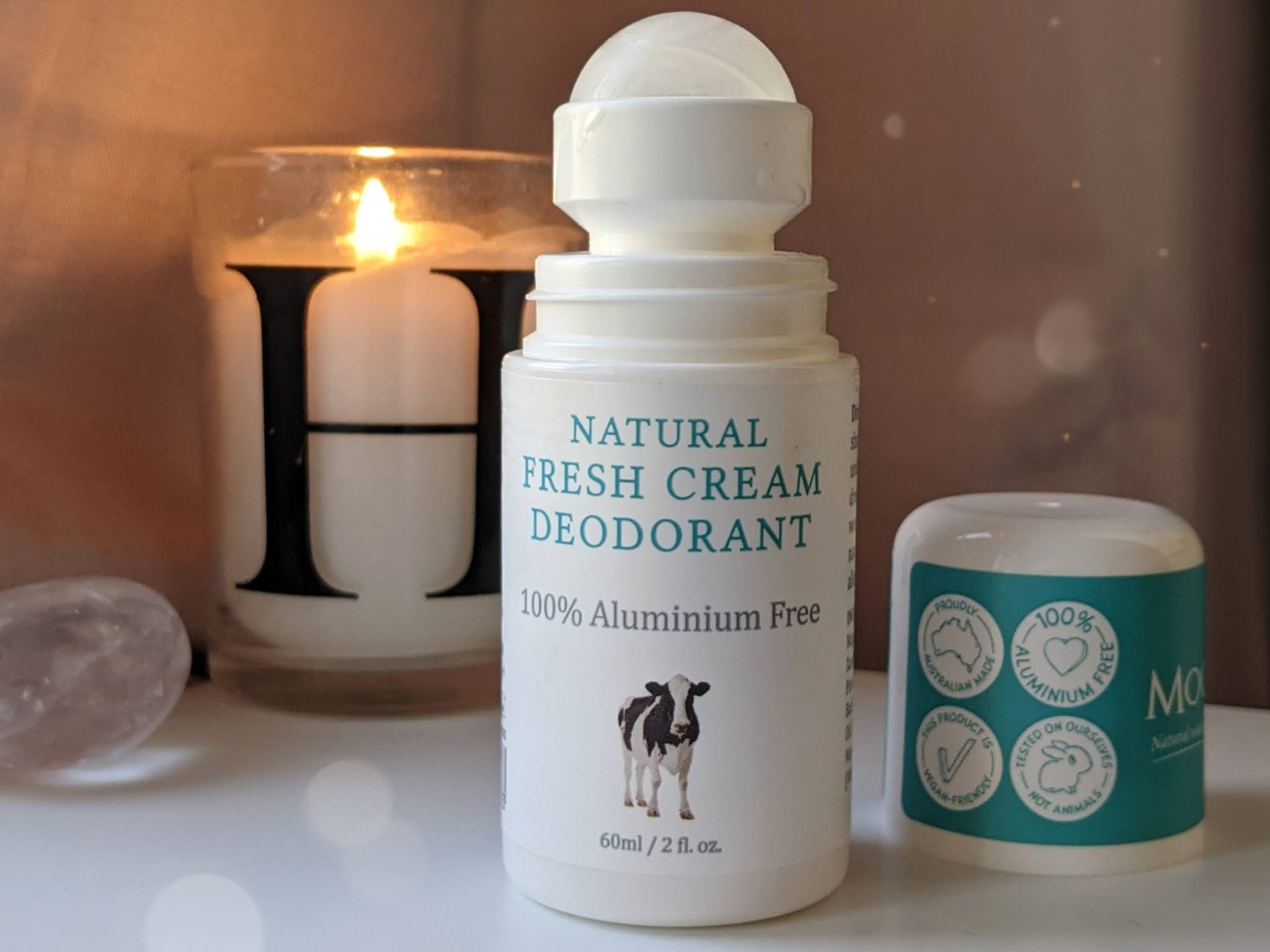 MooGoo Natural Fresh Cream Deodorant littlepackofvegans