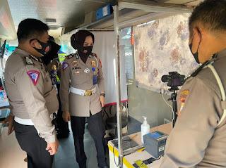 Tingkatkan Pelayanan, Unit Regident Satpas Sim Polrestabes Cek Sim Keliling