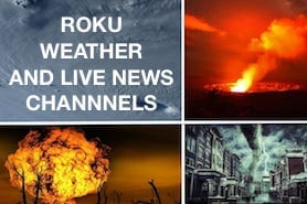 Roku Live Weather and News Channels
