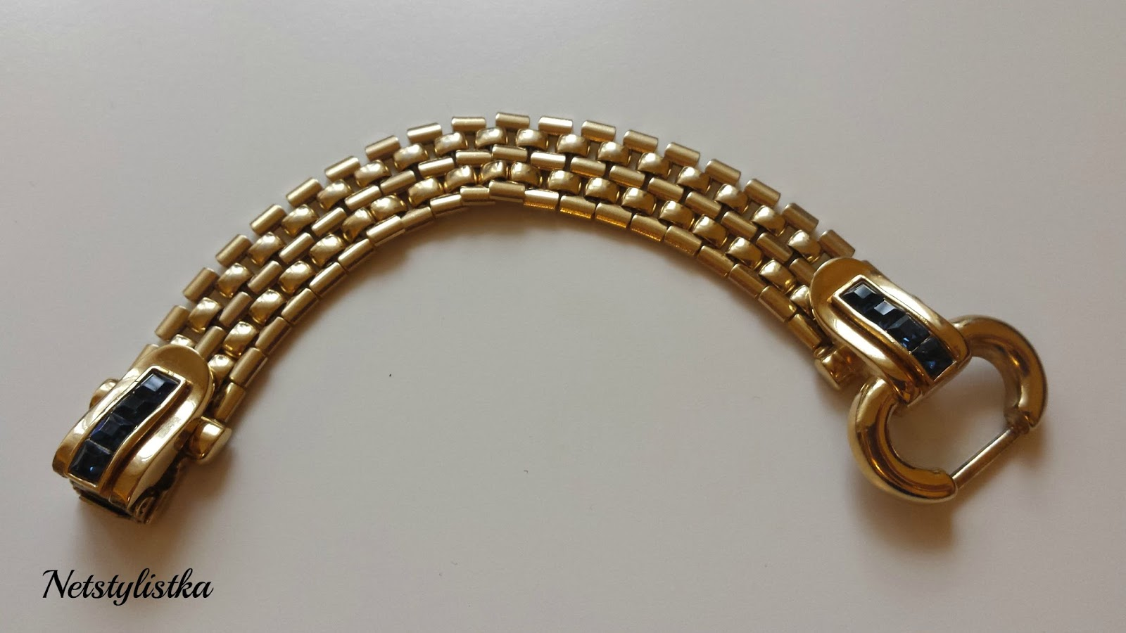 Givenchy bransoletka vintage od projektanta