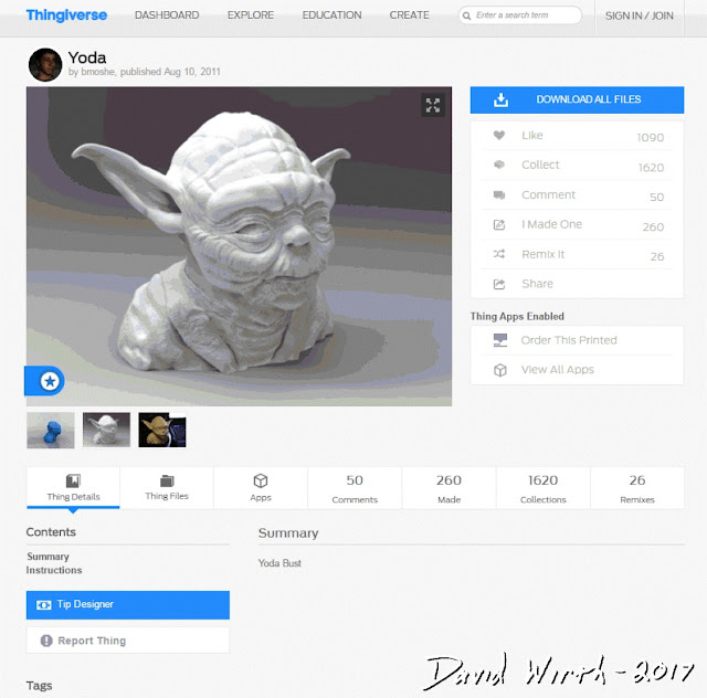 thingaverse, thingiverse, upload, download, .stl, obj, file type, how to, search