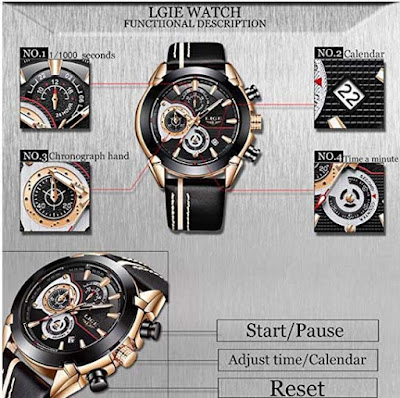 características del reloj