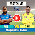 Watch : MI vs CSK, DREAM11 IPL 2020, MATCH 41, Mumbai Indians beats CSK by 10 wickets