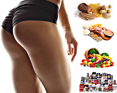Dieta volumen glúteos sin grasa alimentos