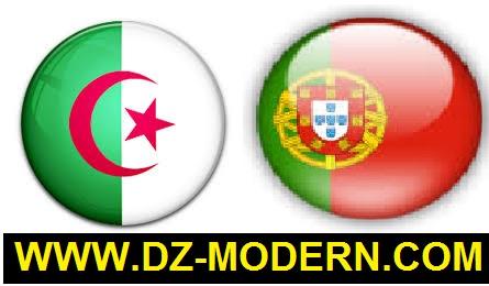 القنوات الناقلة لمشاهدة مباراة الجزائر والبرتغال الودية اليوم