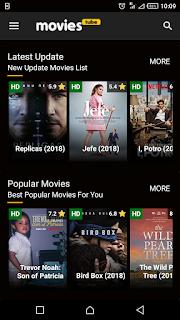 تطبيق  Movies Tubesلمشاهدة و تحميل أحدث الافلام السينمائية العالمية الجديدة مجانا