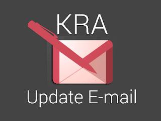 update KRA email