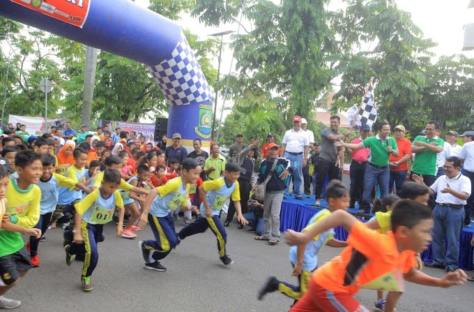 Lomba Lari Maraton Tangerang 10 K Meriah