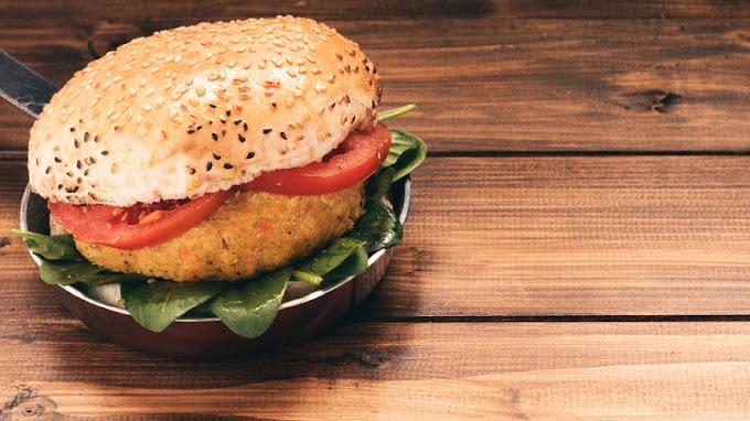Indian veggie burger recipe