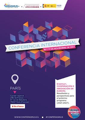 Conferencia Internacional Erasmus+ de París: