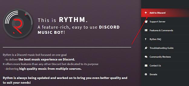 Add to discord menambahkan lagu di discord