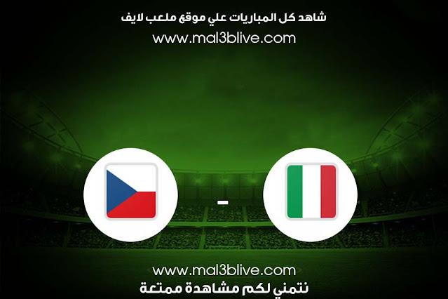 مشاهدة مباراة ايطاليا وجمهورية التشيك بث مباشر اليوم الموافق 2021/06/04 في مباراة ودية