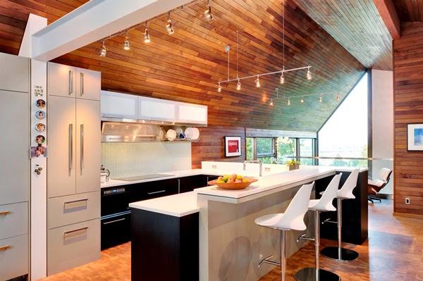 Paredes de madera en casa  Ideas para decorar disear y