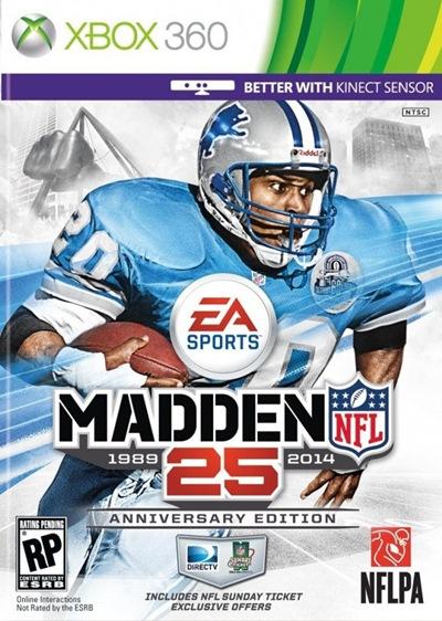 Madden NFL 25 Xbox 360 Region Free XGD3
