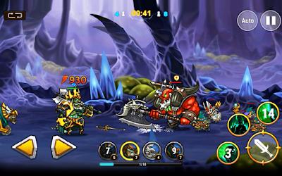 تحميل لعبة Legend Heroes apk مهكرة, لعبة Legend Heroes مهكرة جاهزة للاندرويد, لعبة Legend Heroes مهكرة بروابط مباشرة