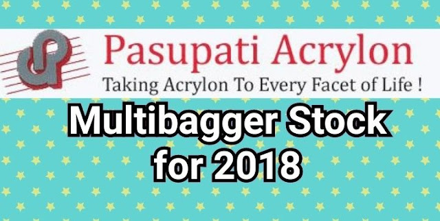 MULTIBAGGER FOR 2018