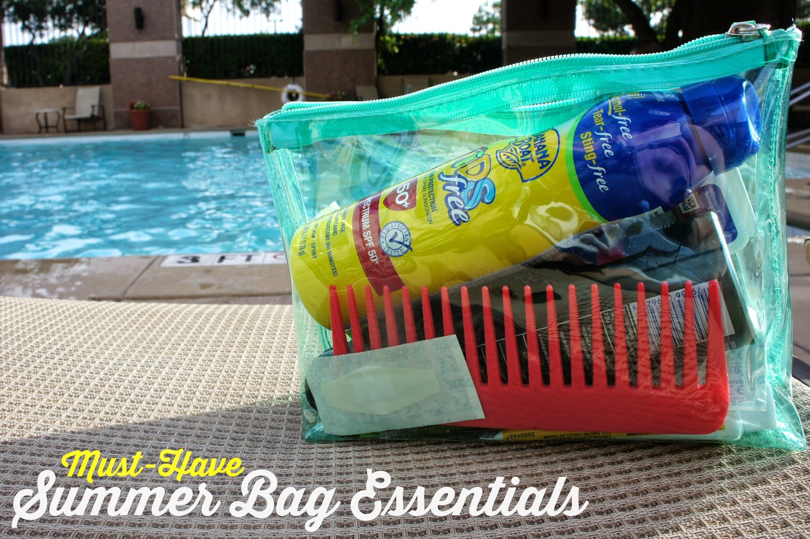 Must Have Summer Bag Essentials with #BBBestSummer