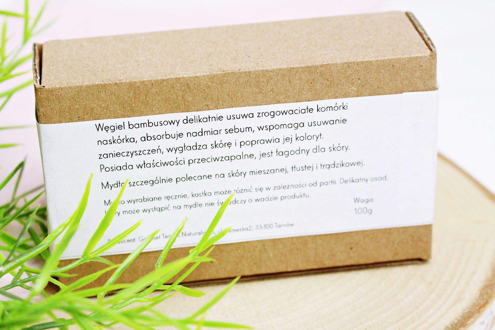 Mydło z węglem bambusowym Naturologia