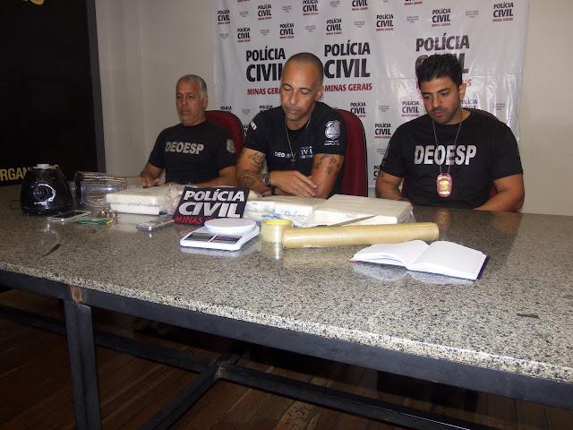 Polícia Civil prende suspeito de tráfico de drogas em Belo Horizonte