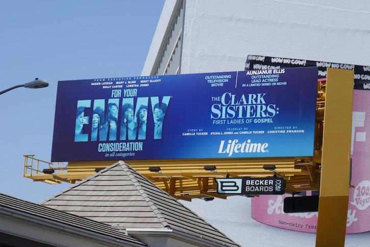 Clark Sisters Emmy FYC billboard