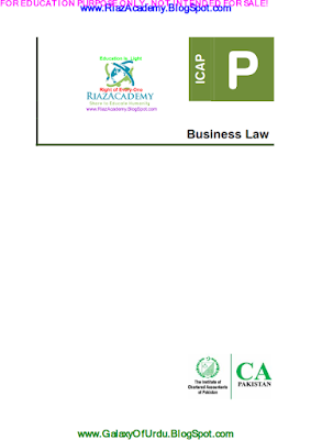 CAF-03 - BUSINESS LAW 2016 - Study Text