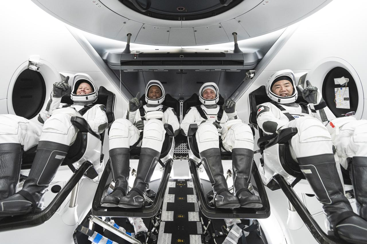 NASA's SpaceX Crew-1 Astronauts to Answer Questions after Return to Earth