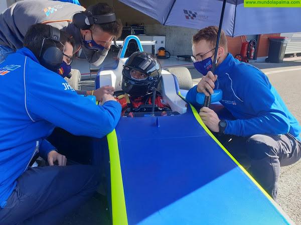 Santi Concepción Jr. se prepara en el Spa Francorchamps de Bélgica en su salto a la Fórmula 4