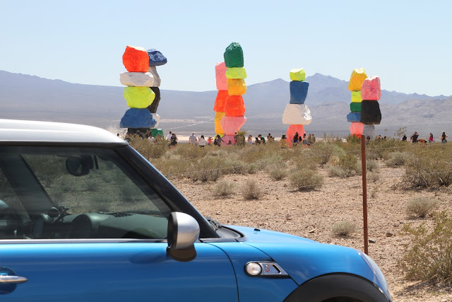 Budget-Friendly Las Vegas Attractions: Seven Magic Mountains  | Will Bake for Shoes