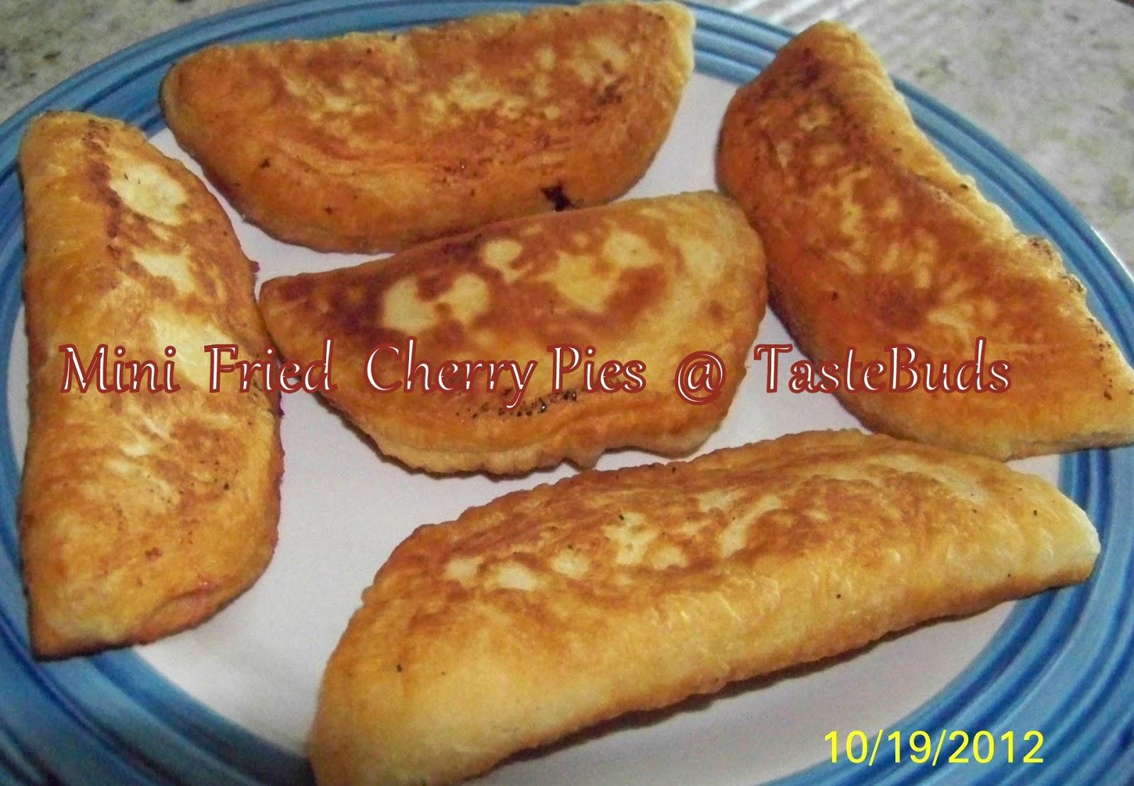 Taste Buds Mini Fried Cherry Pies