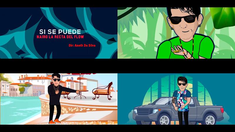 Nairo La Recta del Flow - Si se puede - Videoclip / Dibujo Animado - Dirección: Aneth Da Silva. Portal Del Vídeo Clip Cubano. Música cubana. Reggae. Cuba.