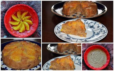 Orangenkuchen, Kastanienmehl