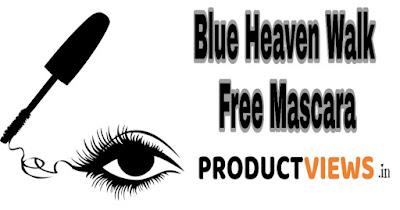 www.productviews.in, ब्लू हेवेन वॉक फ्री मस्कारा | Blue Heaven Walk Free Mascara review