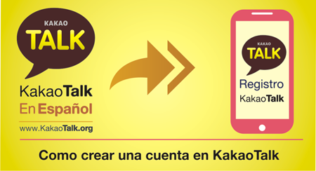 Como crear una cuenta en KakaoTalk
