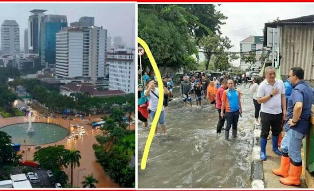 Jakarta Hari Ini Lumpuh Total Akibat Banjir, Anies Tetap ...