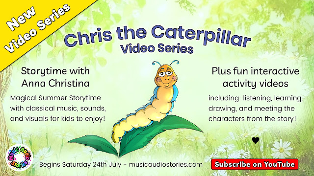 Music Audio Stories presents Storytime with Anna Christina Online