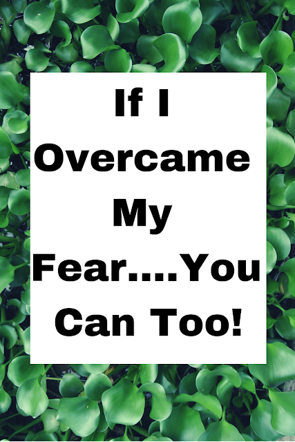 If I Overcame Fear....You Can Too! How I let the fear of speaking a second language cripple me for 10 years and how I got freedom from it. #christianblogger #freedomfromfear