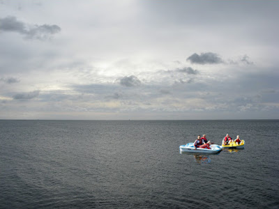 pedalo in channel picture