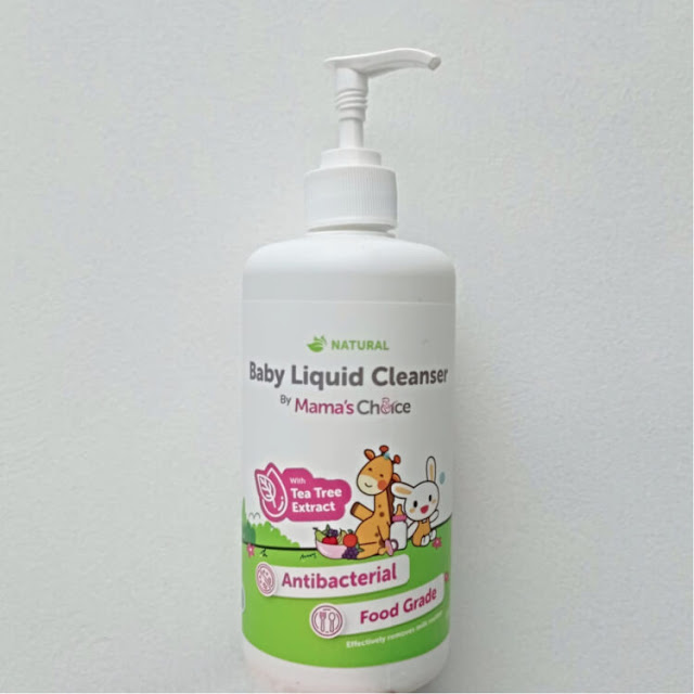 review mama's choice baby liquid cleanser