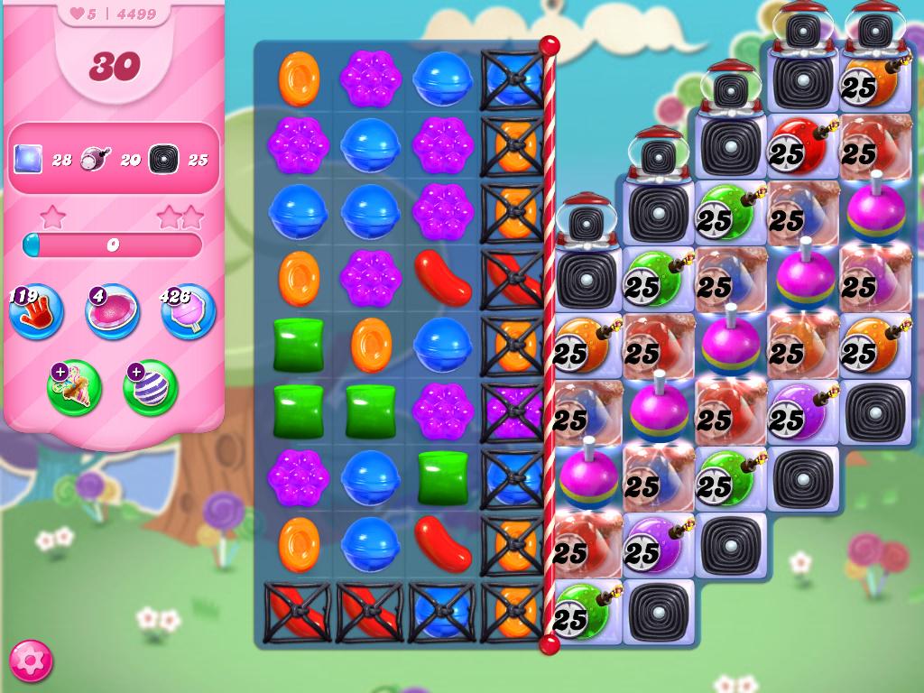 Candy Crush Saga level 4499
