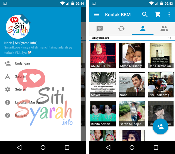 buat blackberry id di android