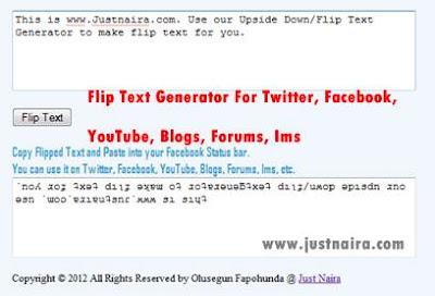 Flip-TExt-Generator