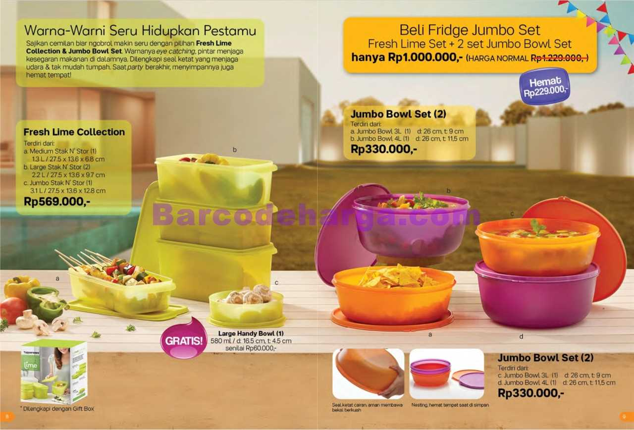 Promo Tupperware Bulan Januari 2019