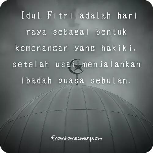 Quotes Selamat Idul Fitri Islami