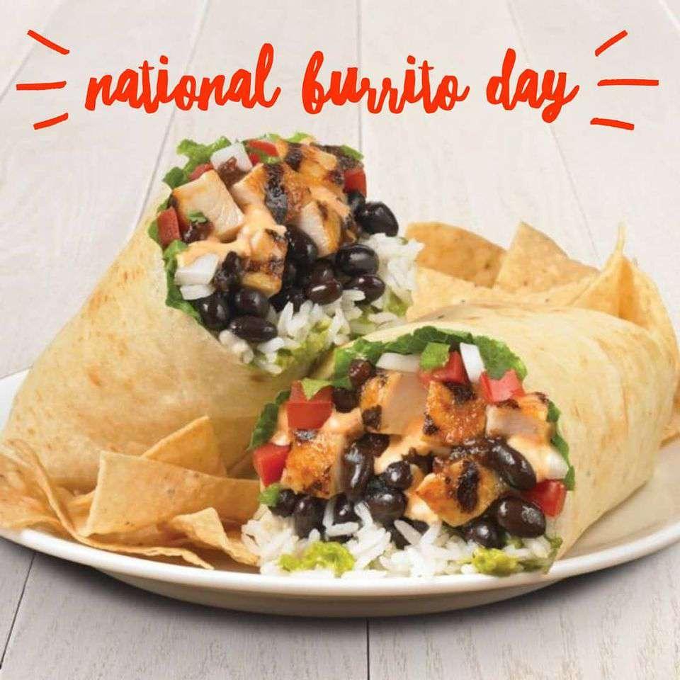 National Burrito Day Wishes Unique Image