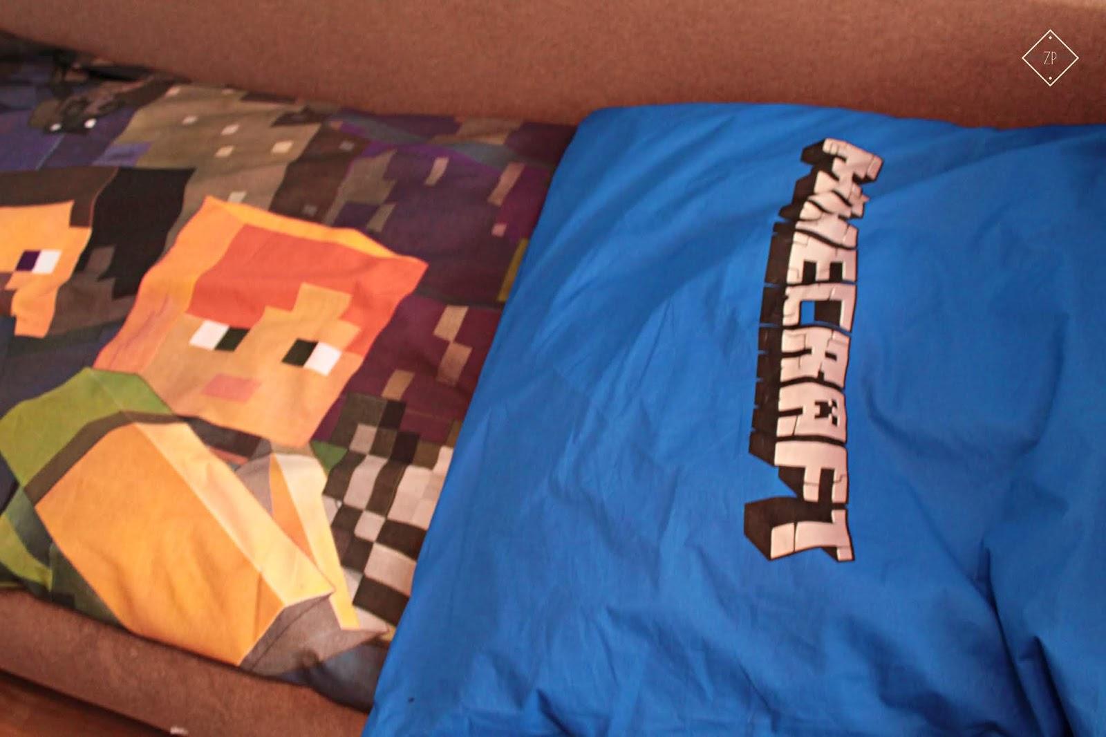 Pościel Minecraft Steve Alex Baby Pig