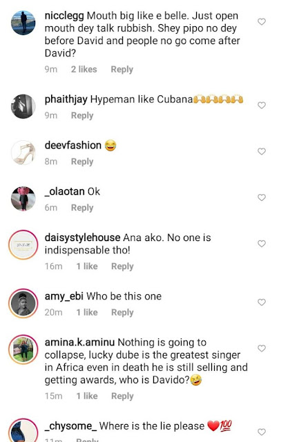 Cubana Chiefpriest Attacked For Saying That The Music Industry Will Crash Without Davido