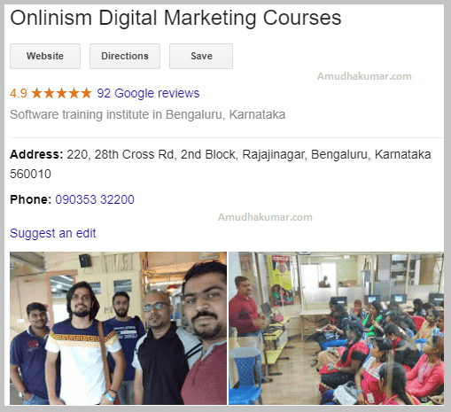 Digital Marketing Course Training institute Bangalore Onlinism Digital Marketing Training
