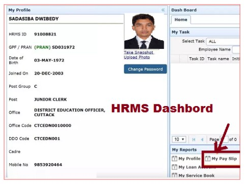 hrms-odisha-payslip-2021